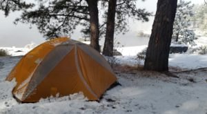 The Most Enchanting Winter Camping Spot In Idaho Can Be Found At Lake Cascade State Park