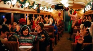 Sip Hot Cocoa And Enter A Holiday Wonderland On Northern California's Magical Christmas Train