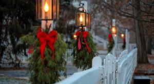 An Outdoor Holiday Event In Kentucky, Embrace The Simple Magic Of The Season At Shaker Village
