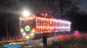 Watch The Delaware Countryside Whirl By On This Unforgettable Christmas Train