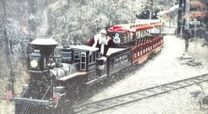 Watch The Georgia Mountains Whirl By On This Unforgettable Christmas Train