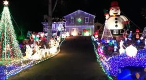 The Portwood Family Christmas Light Show In Georgia Should Be Your Annual Holiday Excursion