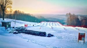 Tackle A 6-Lane Alpine Snow Tubing Hill At Shanty Creek Resort In Michigan This Year