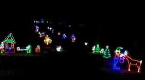West Virginia's Enchanting 1.3-Mile Celebration Of Lights Holiday Drive-Thru Is Sure To Delight
