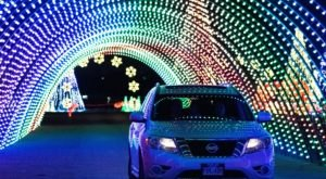 Minnesota's Enchanting Christmas In Color Holiday Drive-Thru Is Sure To Delight