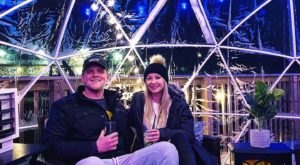 Dine Inside A Private Heated Igloo At Treehouse Pub And Eatery In Iowa