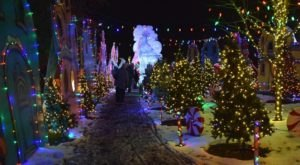 Marvel At The More Than One Million Lights At The Winter Light Spectacular In Pennsylvania This Holiday Season