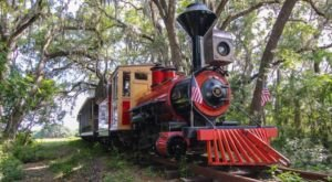 Watch This Florida Farm Whirl By On This Unforgettable Christmas Train