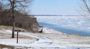 Fort Stevenson State Park Transforms From A Lakeside Summer Paradise To A Winter Destination Each Year