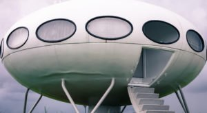 One Of The Few Remaining Futuro Houses In The U.S. Is Right Here In Delaware