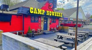 The Food Is Cheap And The Atmosphere Is Priceless At Camp Nowhere In Rhode Island