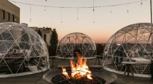 Dine Inside A Private Igloo With Your Very Own Firepit At The Bobby Hotel In Tennessee