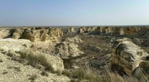Off The Beaten Path In Little Jerusalem Badlands State Park, You'll Find A Breathtaking Kansas Overlook That Lets You See For Miles