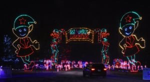 Drive Through A Mile Of Enchanting Lights At Massachusetts' Newest Holiday Display