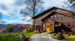 Why This Lodge In New York's Adirondacks Is The Ultimate Fall Adventure