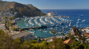 Off The Beaten Path At Avalon Bay, You'll Find A Breathtaking California Overlook That Lets You See For Miles