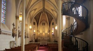Loretto Chapel Is A Fascinating Spot in New Mexico That's Straight Out Of A Fairy Tale