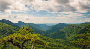 The 8.2-Mile Hike To Reach North Carolina's Very Own Grand Canyon Is Worth Every Step