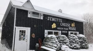 One Of New York's Largest Privately Owned Cheddar Inventories Is Hiding Inside Jewett's Cheese House