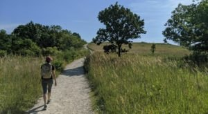 Take An Easy Loop Trail Past Some Of The Prettiest Scenery In Kansas On Konza Godwin Hill Trail