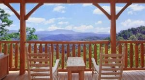 The Views From This Rustic Log Cabin In Tennessee Are The Definition Of Stunning