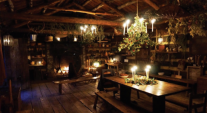 Discover The Magic Of An 18th-Century Christmas With A Candlelight Tour Of Prickett's Fort State Park In West Virginia