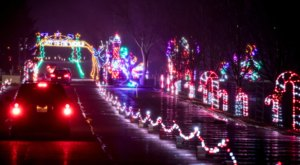 Michigan's Enchanting 1.5-Mile Magic Of Lights Holiday Drive-Thru Is Sure To Delight