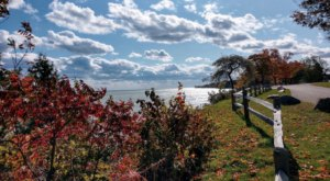 Lake Huron Roadside Park Is A Magnificent Overlook Near Detroit That's Worthy Of A Little Adventure
