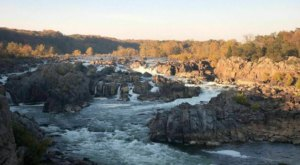 The River Trail Mini Loop Is A Quick And Easy Way To Experience The Best Scenery At Great Falls Park In Virginia