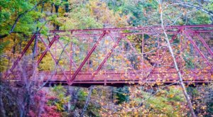 The Magnificent Bridge Trail In Indiana That Will Lead You To An Astounding Overlook