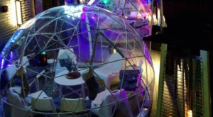 Dine Inside A Private Igloo All Winter At Mare Rooftop In Rhode Island