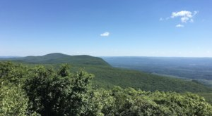 Off The Beaten Path At Bear Mountain, You'll Find A Breathtaking Connecticut Overlook That Lets You See For Miles