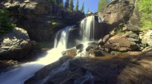 West Tensleep Falls Is A 1.5-Mile Hike In Wyoming That Leads You To A Pristine Waterfall