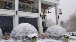 Dine Inside A Heated Igloo When You Visit Ninetwentyfive In Wayzata, Minnesota This Winter