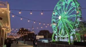 Take A Ride On The Whimsical 65-Foot Ferris Wheel In Northern California That's Only Open For The Winter