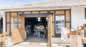 Located Out In The Country, The Milking Barn In Idaho Has A Selection Of Fantastic Vintage Goods