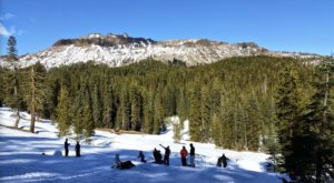 Spend An Unforgettable Winter Day With Family At Donner Summit Sno-Park In Northern California