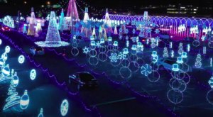 Drive Through The World's Largest Animated Light Show At World Of Illumination in Georgia
