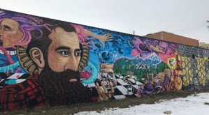 Take A Drive Through Ogden, Utah To See More Than A Dozen Vibrant Murals