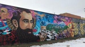 Take A Drive Through Ogden, Utah To See More Than A Dozen Vibrant Murals