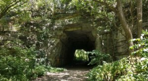 The Abandoned Boone Tunnel Once Led Automobiles Across The Kentucky River