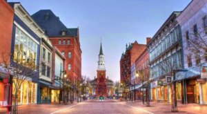 These Might Just Be The 7 Most Enchanting Downtowns In Vermont During The Fall