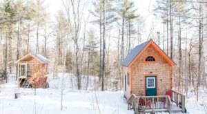 Get Cozy With A Weekend Getaway In This Charming Tiny House In Maine