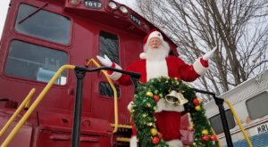Hop Aboard The Santa Express Train In New Hampshire To Feel The Magic Of The Season