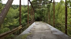 One Of The Most Haunted Bridges In Oklahoma, Boggy Creek Bridge Has Been Creepy Since 1924