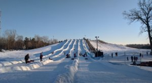 Metro Detroit Is Home To The Country's Most Underrated Snow Tubing Park And You'll Want To Visit