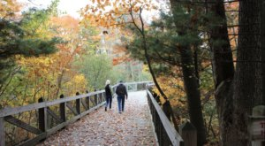 Wander Along The Water When You Visit The 239-Acre Hemlock Crossing Park In Michigan
