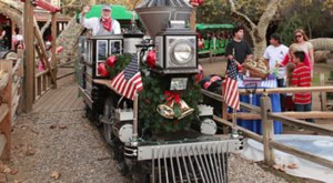 Take A Ride On The Irvine Park Railroad Christmas Train In Southern California For A Dose Of Holiday Cheer