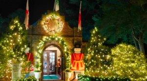 Marvel At Fantastical Holiday Light Displays At Elizabethan Gardens In North Carolina This Season