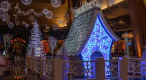 See A 15-Foot-Tall Sugar Palace At This Larger Than Life Winter Wonderland Display In Nevada